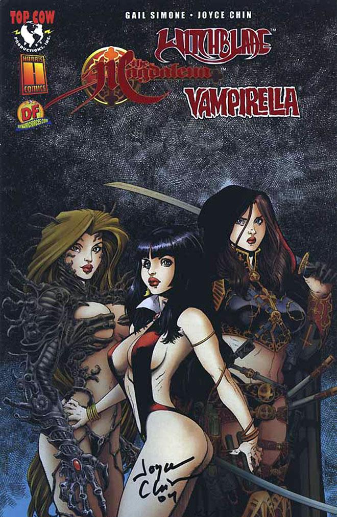Witchblade Magdalena Vampirella Convergence (2004 Dynamic