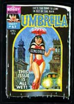Wacky Packages Umbrella card