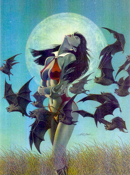 the vampirella art of david michael beck
