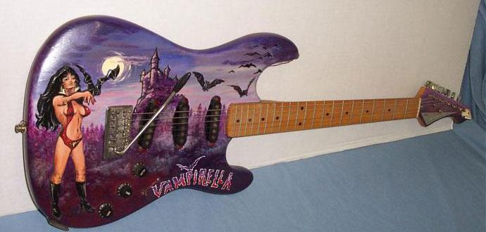 Vampirella Ephemera Guitars